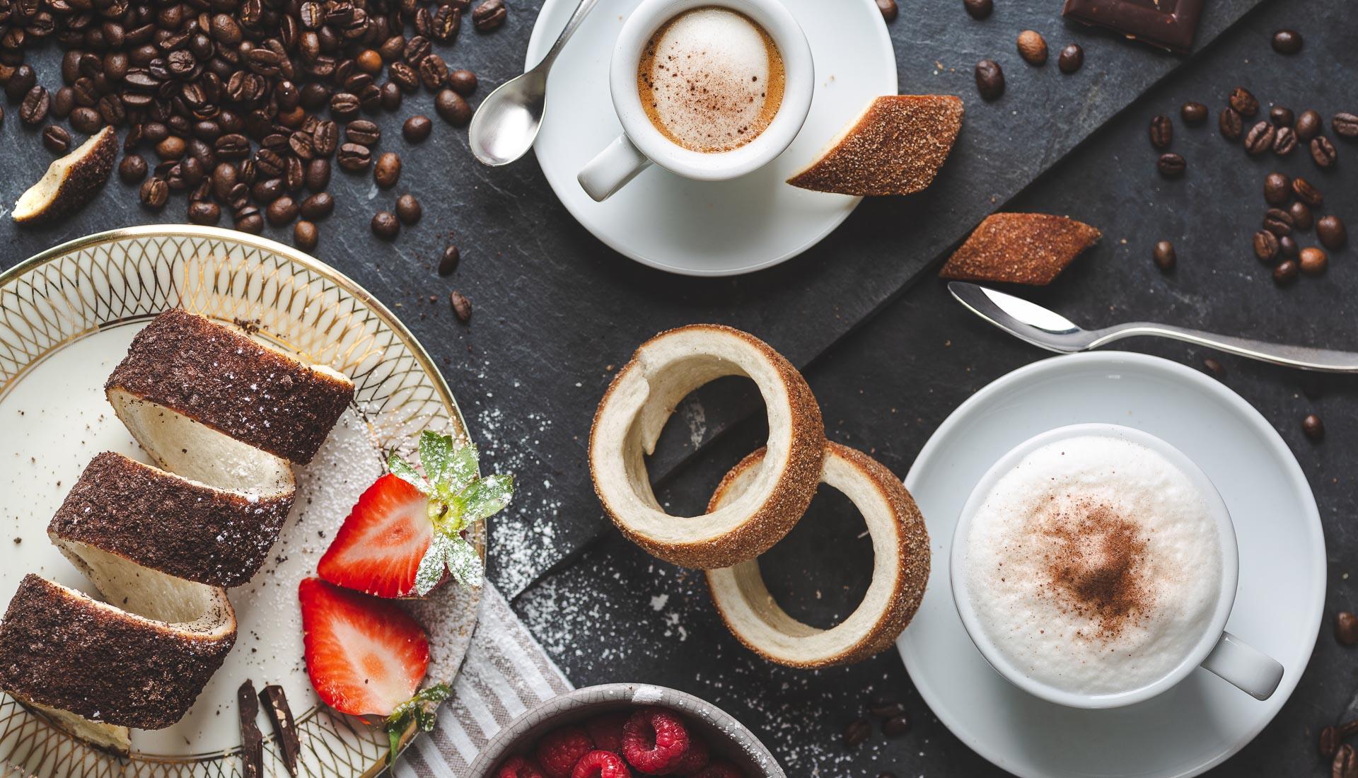 Baumstriezel Kaffeezeit